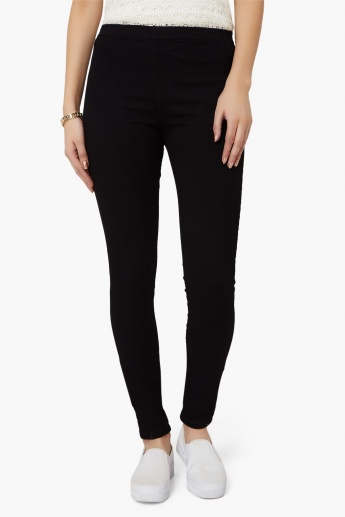 KRAUS Solid Jeggings