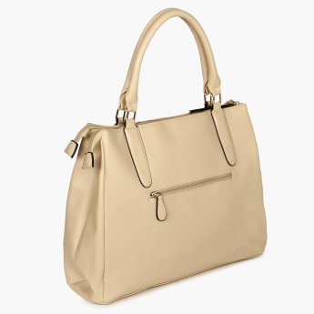 LAVIE Geometric Good Handbag   Beige 4110c02a4f