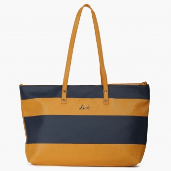 LAVIE Striped Handbag