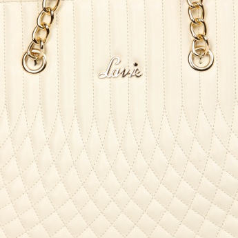 LAVIE Quilted Chain Strap Handbag