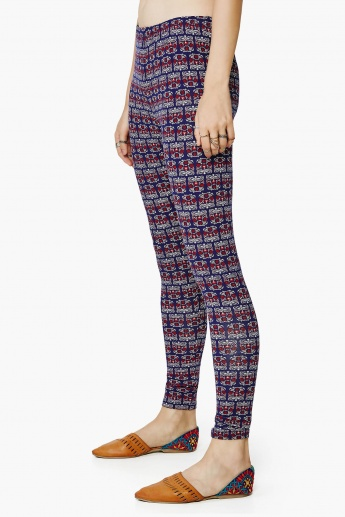 GLOBAL DESI Printed Leggings