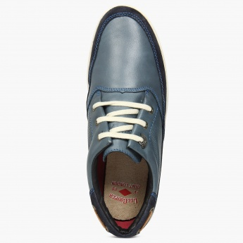 LEE COOPER Perforated Suede Detail Shoes
