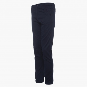 GINI & JONY Solid Pocketed Pants