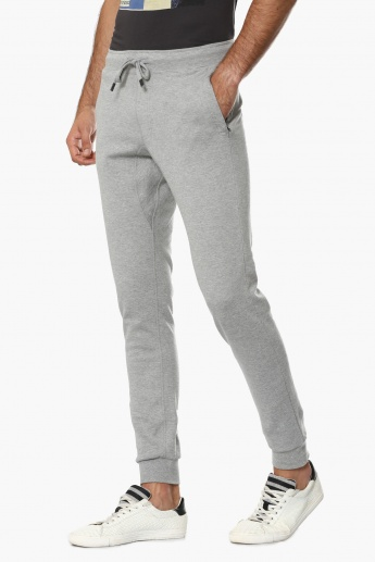 FAHRENHEIT Solid Pocketed Joggers
