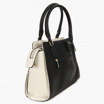 DAVID JONES Two Tone Adjustable Strap Handbag