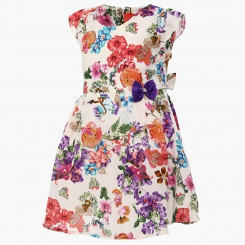 PEPPERMINT Winter Blossoms Dress