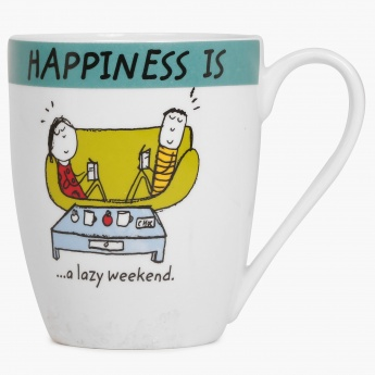 Happiness Lazy Weekend