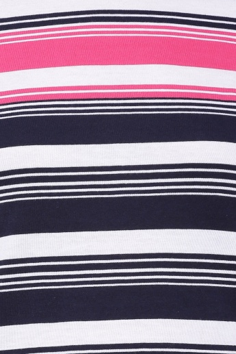 UNITED COLOURS OF BENETTON Striped Full Sleeves Top