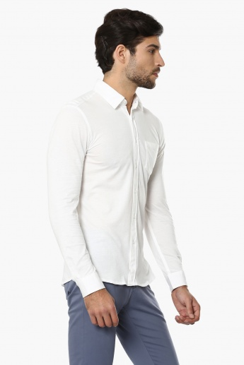 CELIO Full Sleeves Slim Fit Shirt