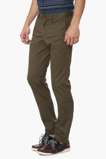 INDIAN TERRAIN Solid Slant Pocket Pants
