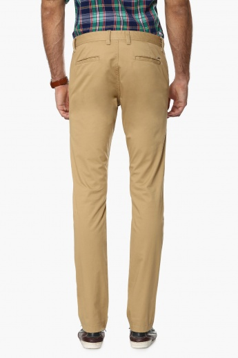 INDIAN TERRAIN Solid Slim Fit Pants