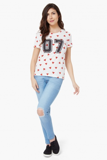 VERO MODA 07 Watermelon Print Top