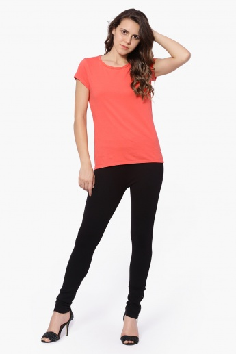 UNITED COLORS OF BENETTON Solid Leggings