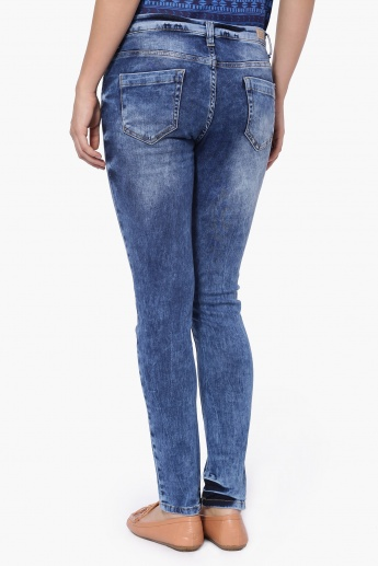 UNITED COLORS OF BENETTON Tattered Jeans