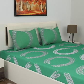 Carnival Set Of 2 Double Bedsheet -6pc