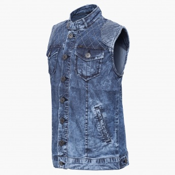 GINI & JONY Sleeveless Denim Jacket