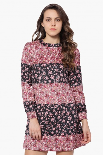 VERO MODA Ditsy Print Dress
