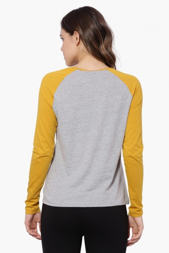 VERO MODA Raglan Sleeves T-Shirt