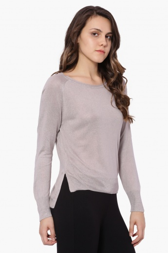 VERO MODA Full Sleeves Knitted Top
