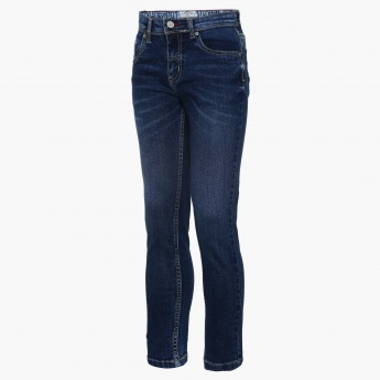 LEE COOPER Whiskered Five Pocket Jeans
