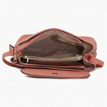GINGER Solid Stint Handbag
