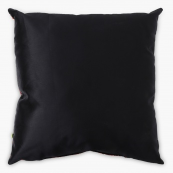 Aurora Digital Print Filled Cushion With Stud - 45 x 45 CM