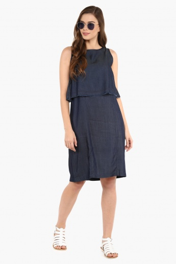 AND Chambray Sleeveless Dress