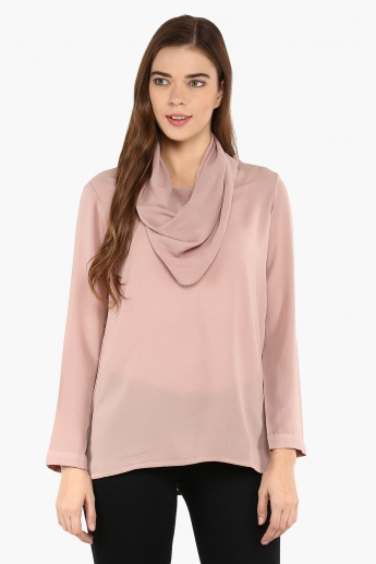 AND Cowl Neck Blouse