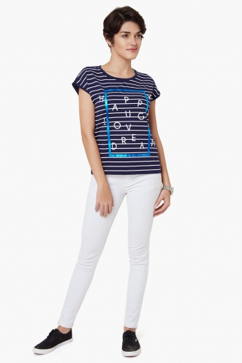UNITED COLOURS OF BENETTON Striped Top
