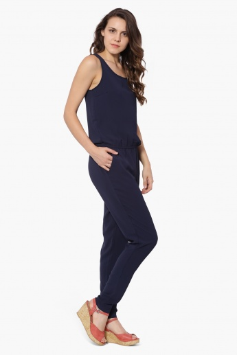 ONLY Solid Sleeveless Jumpsuit