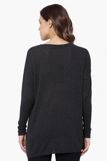 ONLY Star Full Sleeves Sweater