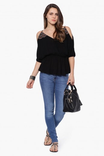 ONLY Cold Shoulder Blouse