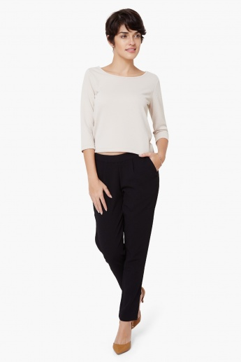 VERO MODA Tapered Fit Pants