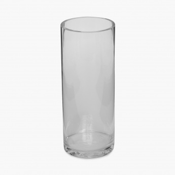Galaxy Cylindrical Clear Vase
