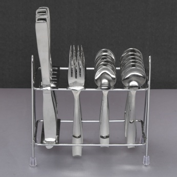 Glister Dune Cutlery Set-24 Pcs and 1 Stand