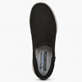 SKECHERS Burst Air-Cooled Memory Foam Slip Ons  91c657dac5