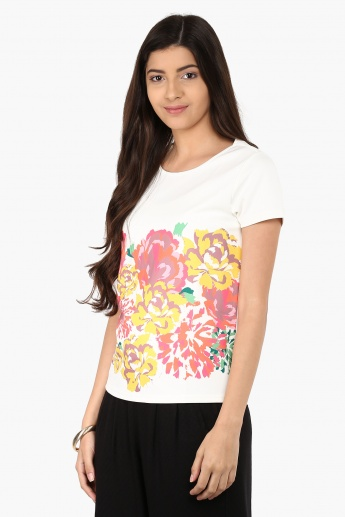 UNITED COLORS OF BENETTON Floral Bunch Top