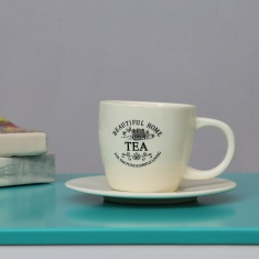 Beautiful Home Ceramic Cup And Saucer