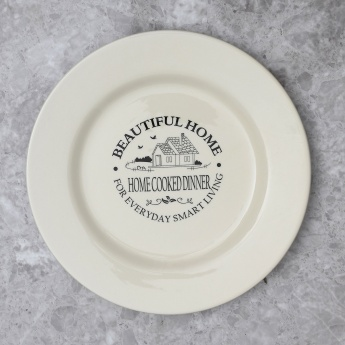 Beautiful home Dinner Plate