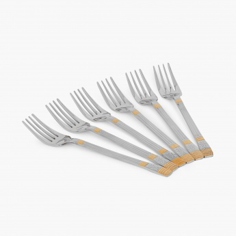 Glister Royal Meadow Baby Fork - Set Of 6 Pcs.
