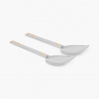 Glister Royal Meadow Veg. Serving Spoon - Set Of 2 Pcs.