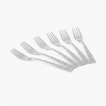 Glister Royce Dinner Fork- Set Of 6 Pcs.
