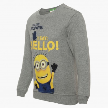 BOSSINI Despicable Me Minion Print Pullover