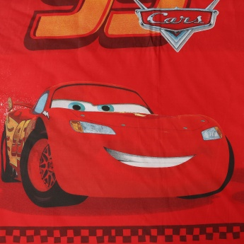 Kids Cars Set of 2 Double Bedsheet Set - 6pc