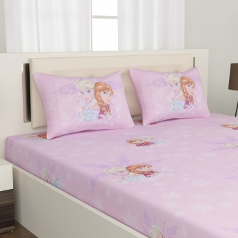 Kids Set of 2 Double Bedsheet Set - 6pc