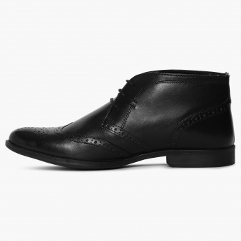 a1806bd37544b2 REDTAPE Wingtip High Ankle Oxford Shoes