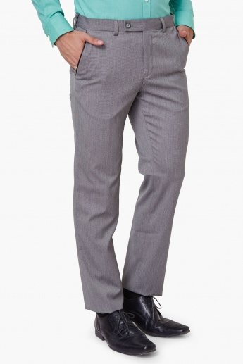 CODE Pocketed Formal Trousers