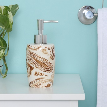 Hudson Paisley Soap Dispenser