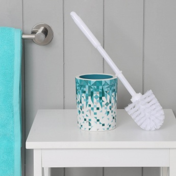 Hudson Triangles Ceramic Toilet Brush Holder