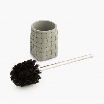 Marshmallow Toilet Brush And Brush Holder- 2 Pcs.